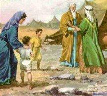 Contradição: Hobabe era o que de Moisés?