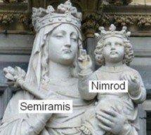 """Leitor pergunta sobre a alegada associação entre """"Semíramis"""" e a Virgem Maria"""
