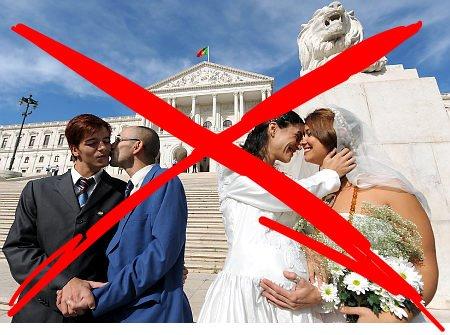 Elitistas que apoiam o casamento gay