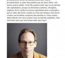 """Lawrence Krauss e sua """"poeira estelar"""""""