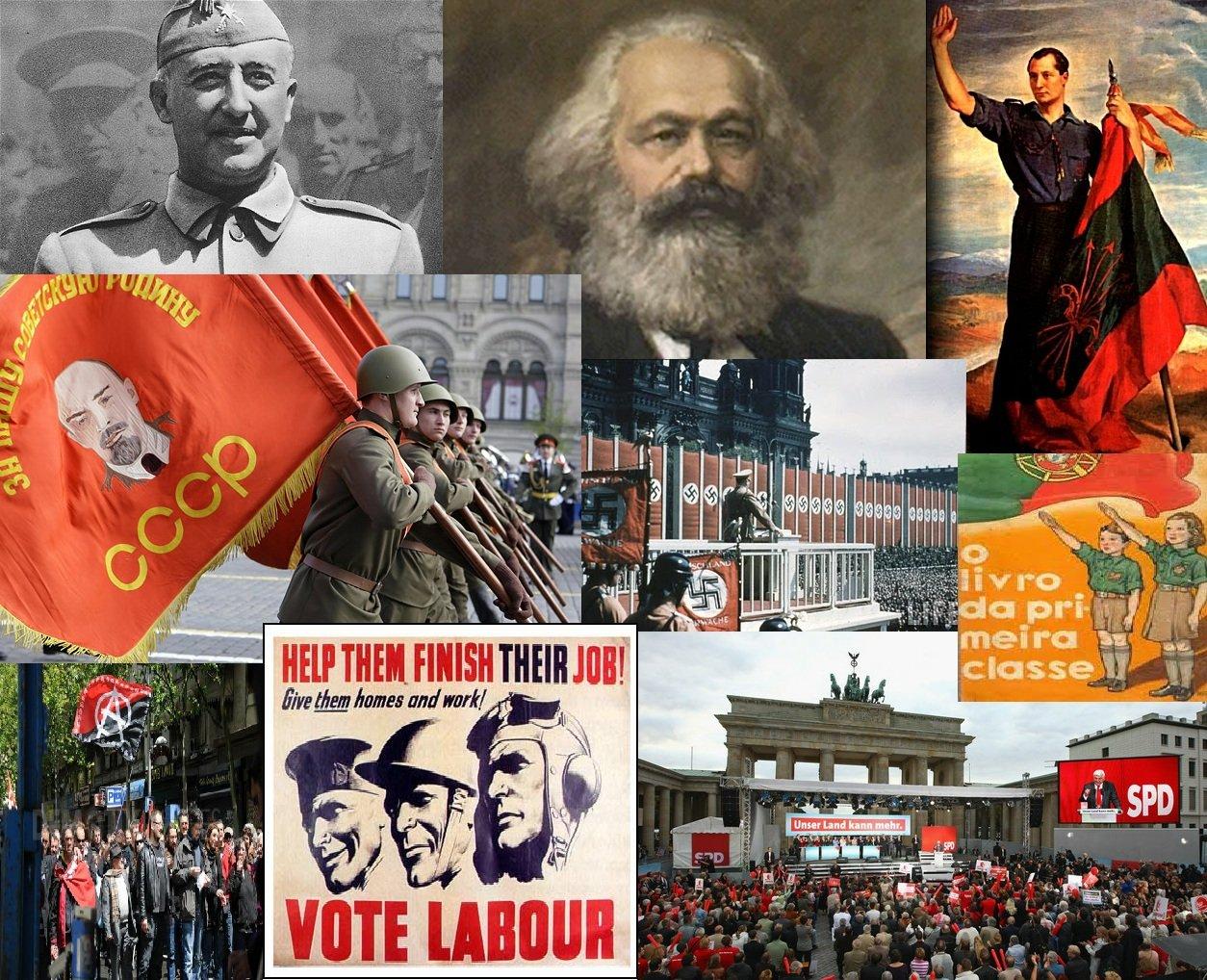 Marxism-Communism-Socialism-Fascism