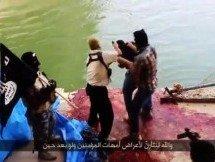 [IMAGENS FORTES] ISIS cria um rio literal de sangue com a execução de 1.500 prisioneiros de guerra