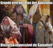 O discurso impossível de Gamaliel