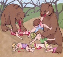 O profeta Eliseu e as duas ursas X 42 crianças