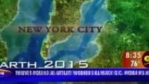 7 anos atrás, o canal de TV ABC fez um vídeo predizendo que Nova Iorque estaria debaixo d'água pelo aquecimento global.