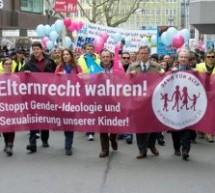 VÍDEO: Esquerdistas atacam com violência uma manifestação pró-família na Alemanha