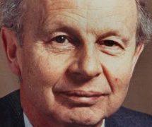 Sir Frederick Catherwood, um exemplo de integridade na política e nos negócios