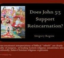 Jo. 3,3 trata de reencarnação?
